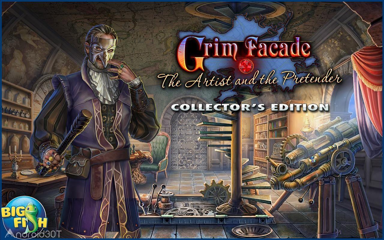 Grim Facade: The Artist 1.0.0 – بازی ماجراجویی هنرمند اندروید