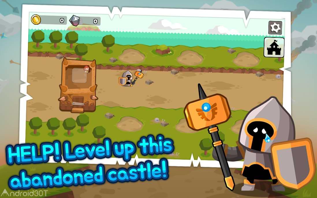 دانلود Grow Tower: Castle Defender TD 1.7.80 – بازی استراتژیکی مدافع قلعه اندروید