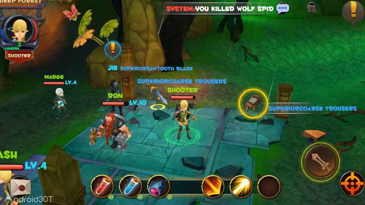 دانلود Guardian Prequel 1.0.19 – بازی نقش آفرینی نگهبان اندروید