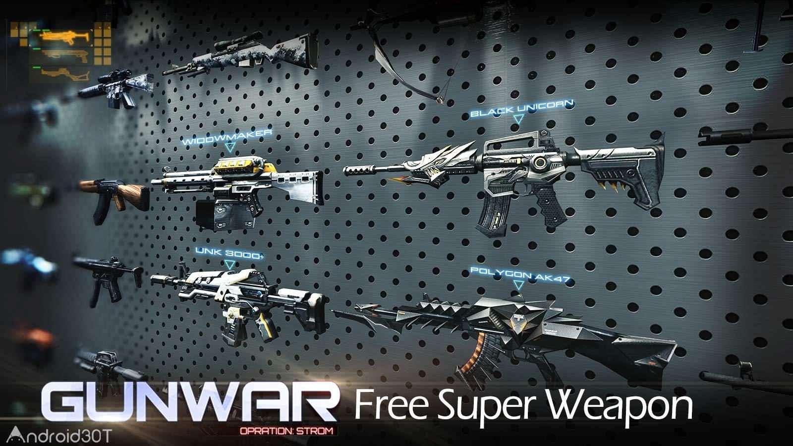 دانلود Gun War: SWAT Terrorist Strike 2.8.1 – بازی اکشن حملات تروریستی اندروید