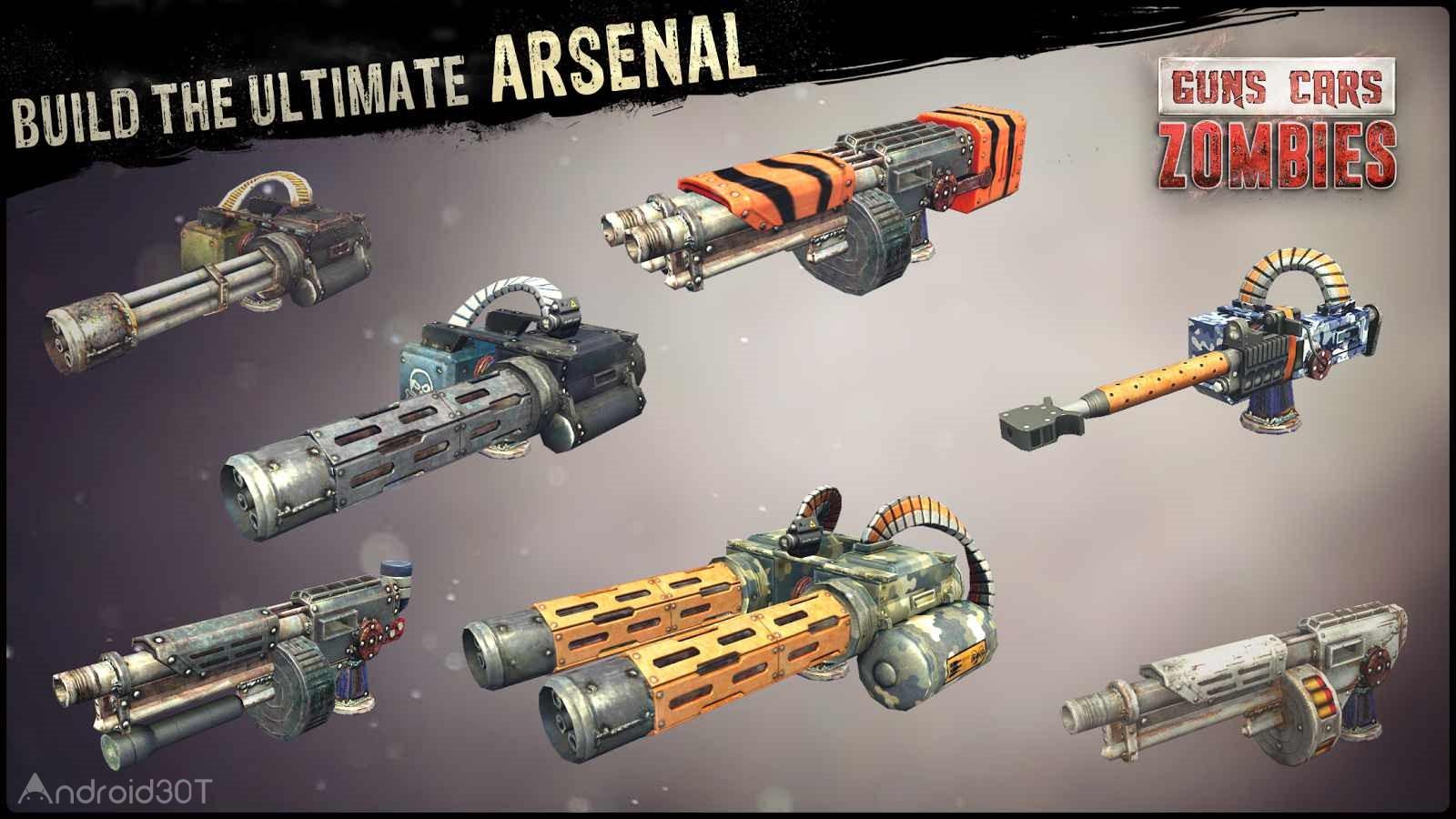 دانلود Guns, Cars, Zombies 3.2.6 – بازی نابود کردن زامبی ها با ماشین جنگی اندروید