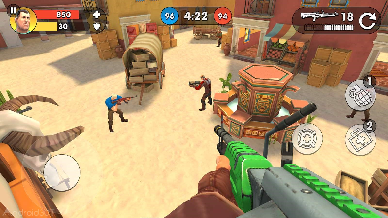دانلود Guns of Boom 18.0.150 – بازی اکشن اسلحه بوم اندروید