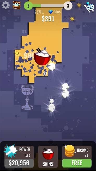 دانلود Hammer Jump 1.5.58 – بازی چکش پرنده اندروید