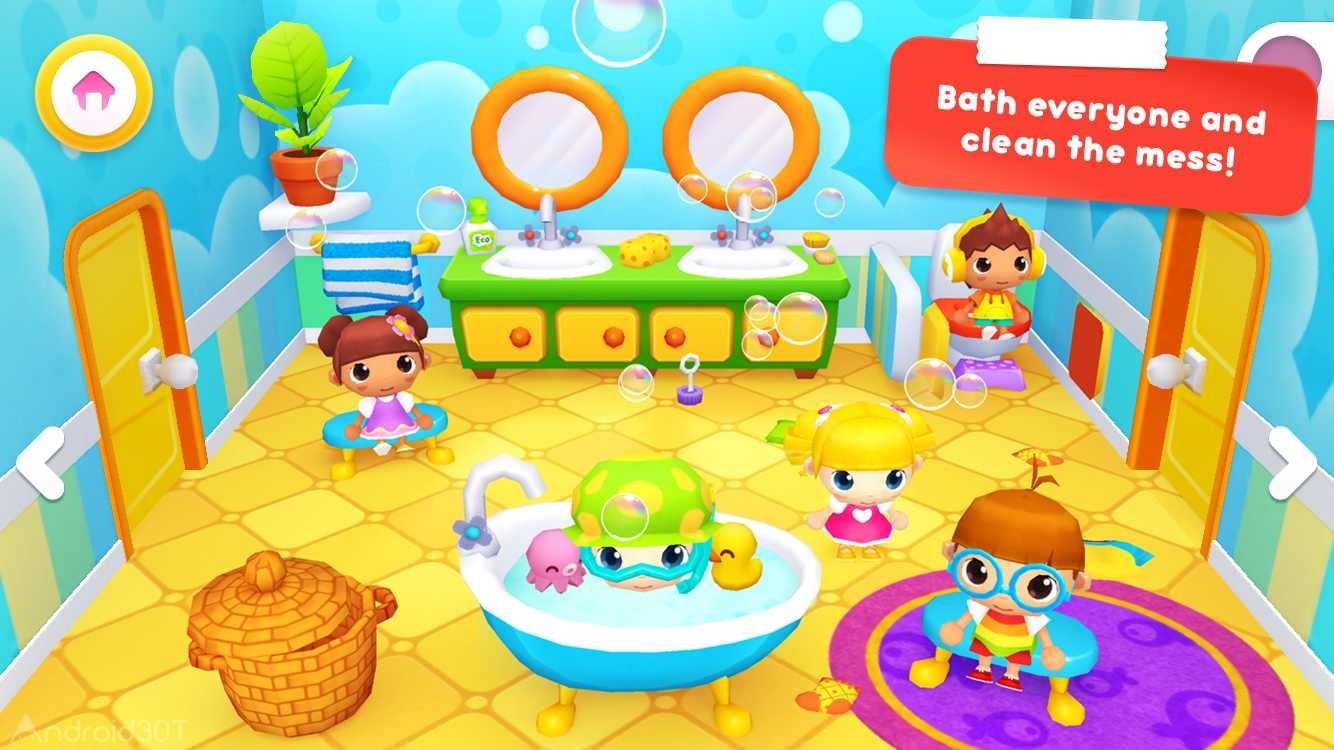 دانلود Happy Daycare Stories 1.2.0 – بازی مدیریت مهدکودک برای اندروید