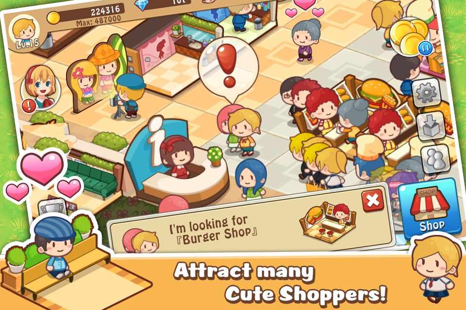 دانلود Happy Mall Story: Sim Game 2.3.1 – بازی شبیه سازی مرکز خرید اندروید