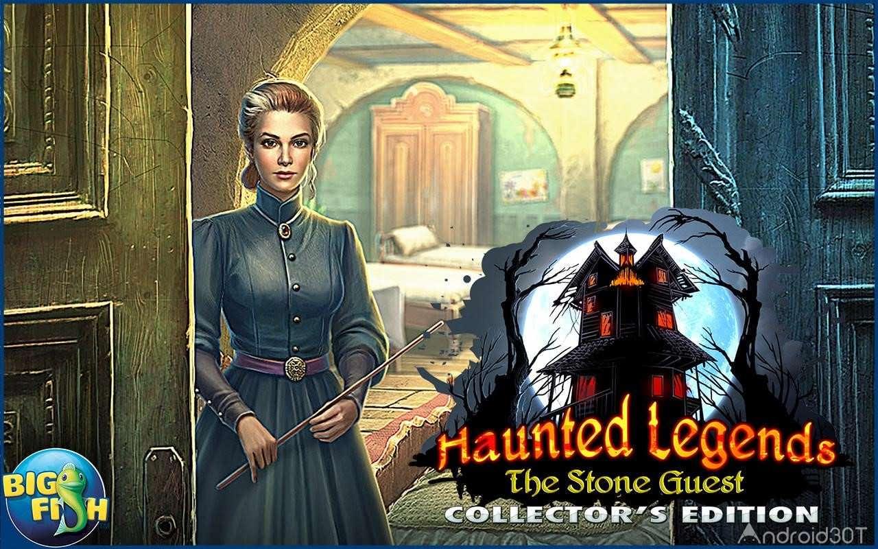 دانلود Haunted Legends: Stone Guest 1.0.0 – بازی افسانه های خالی از سکنه اندروید