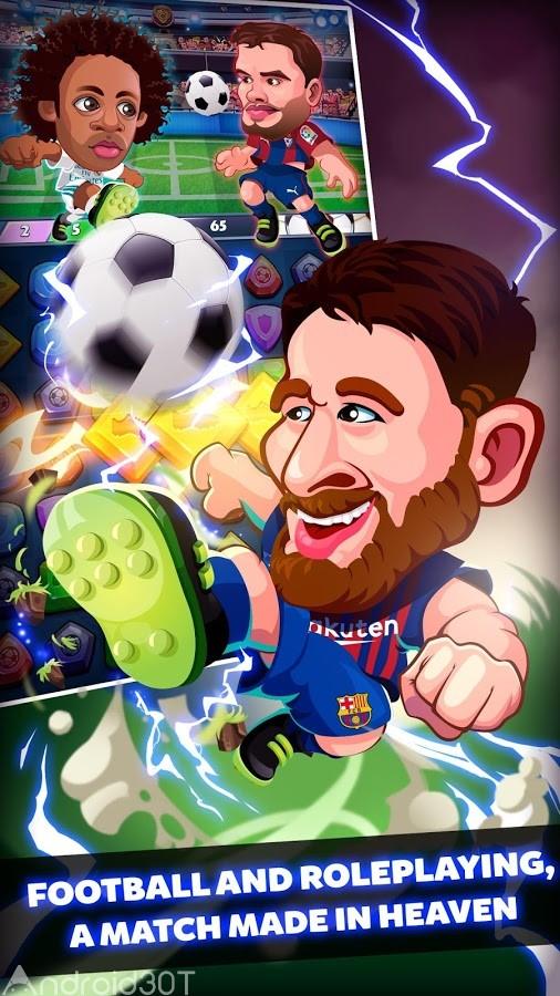 دانلود Head Soccer Heroes 2018 1.5.7 – بازی ورزشی قهرمانان فوتبال 2018 اندروید