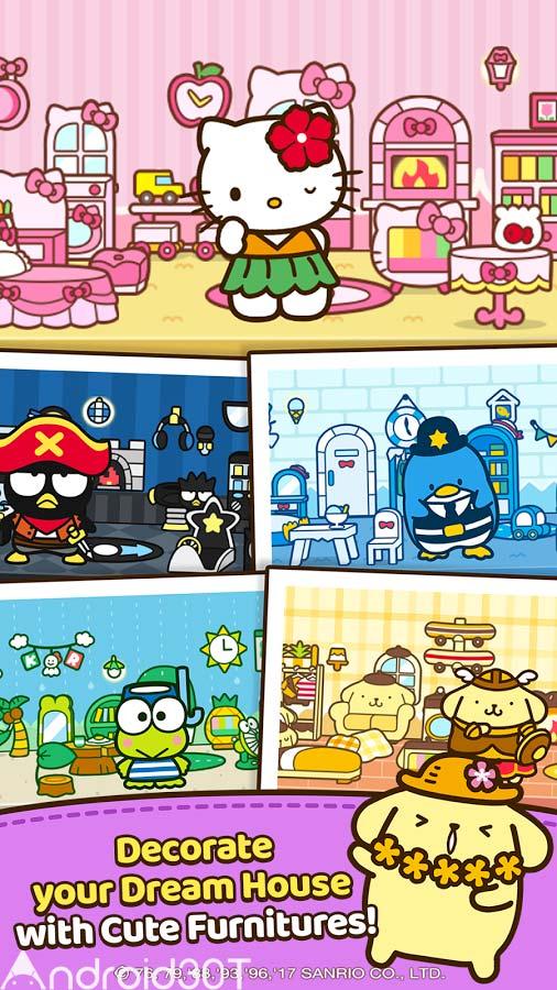 دانلود Hello Kitty Friends 1.6.22 – بازی جالب سلام کیتی اندروید