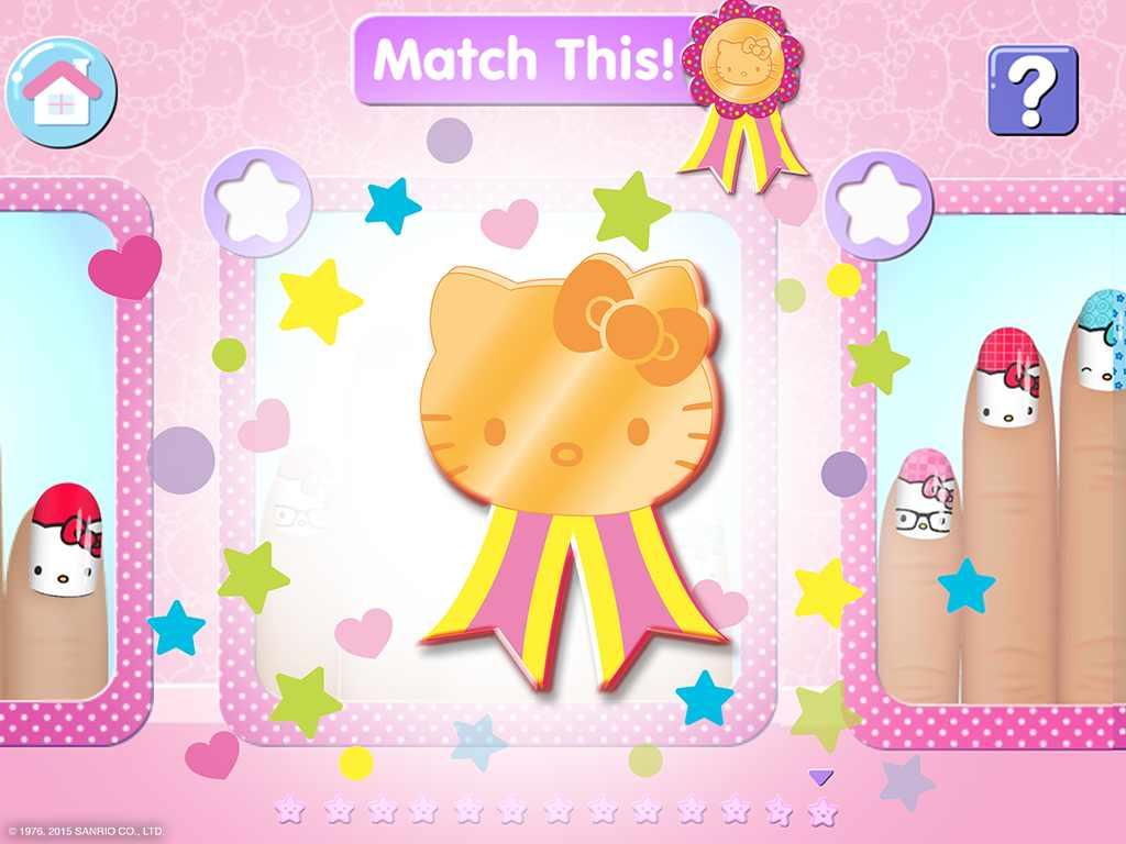 دانلود Hello Kitty Nail Salon 1.11 – بازی دخترانه سالن آرایش هلو کیتی اندروید