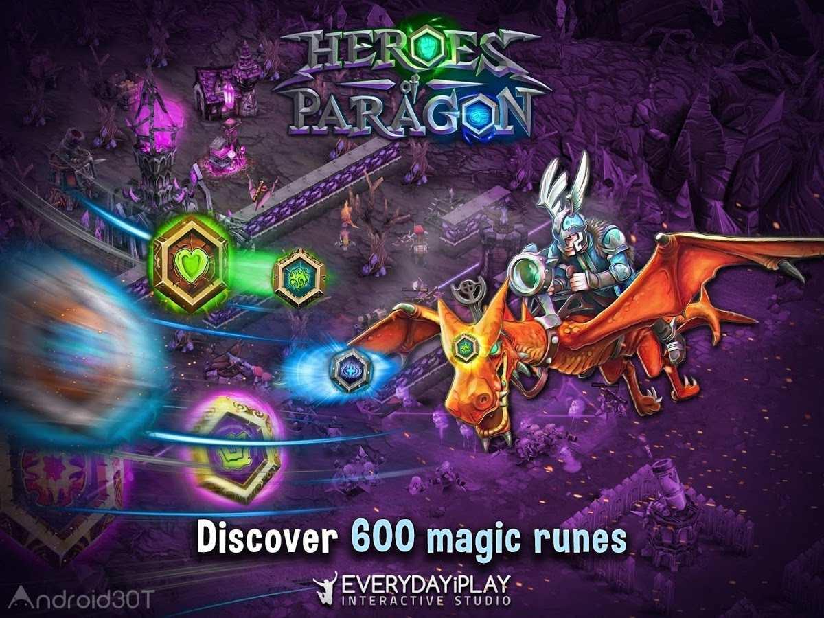 دانلود Heroes of Paragon 1.9 – بازی قهرمانان پاراگون اندروید