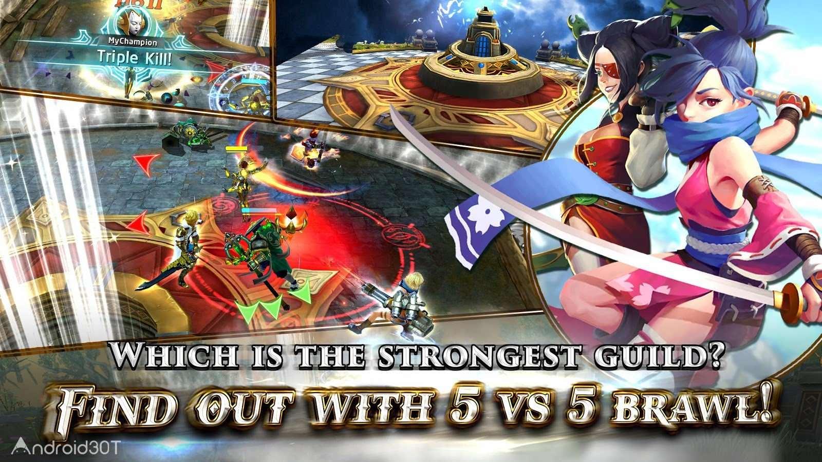 دانلود Heroes of Skyrealm 1.6.5 – بازی اکشن قهرمانان قلمرو آسمان اندروید