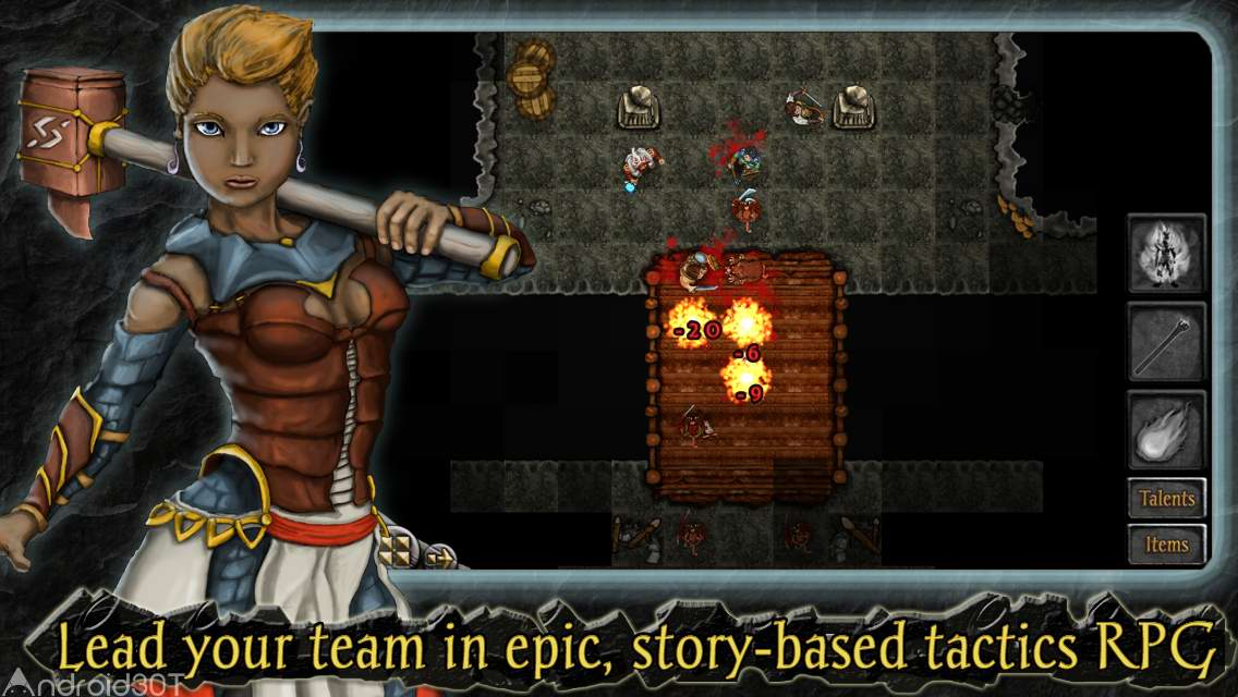 دانلود Heroes of Steel Elite 5.0.3 – بازی جنگ بین قهرمانان اندروید