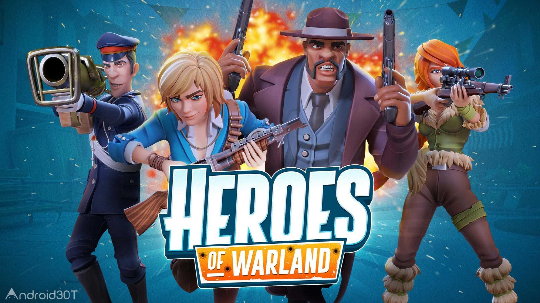 دانلود 1.8.2 Heroes of Warland – بازی اکشن تیراندازی برای اندروید