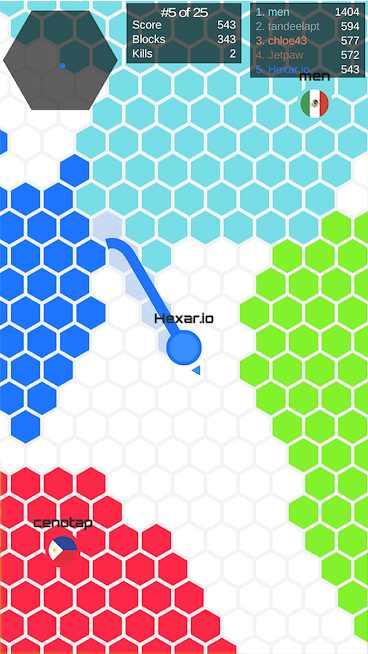 دانلود Hexar.io 1.6.3 – بازی سرگرم کننده شش ضلعی اندروید