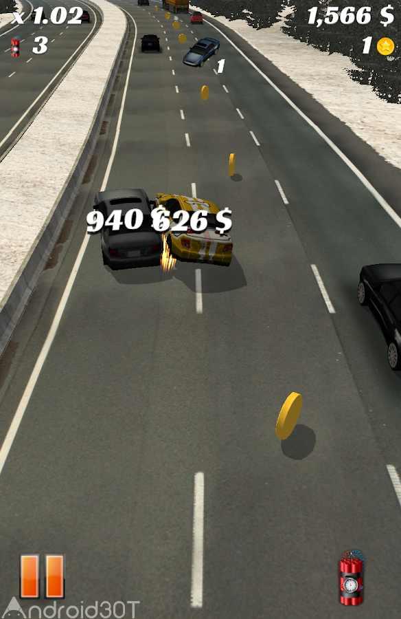 دانلود Highway Crash Derby 1.8.0 – بازی ماشین سواری در بزرگراه اندروید