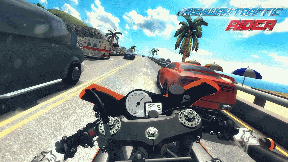دانلود Highway Traffic Rider 1.7.8 – بازی موتور سواری در بزرگراه پرترافیک اندروید