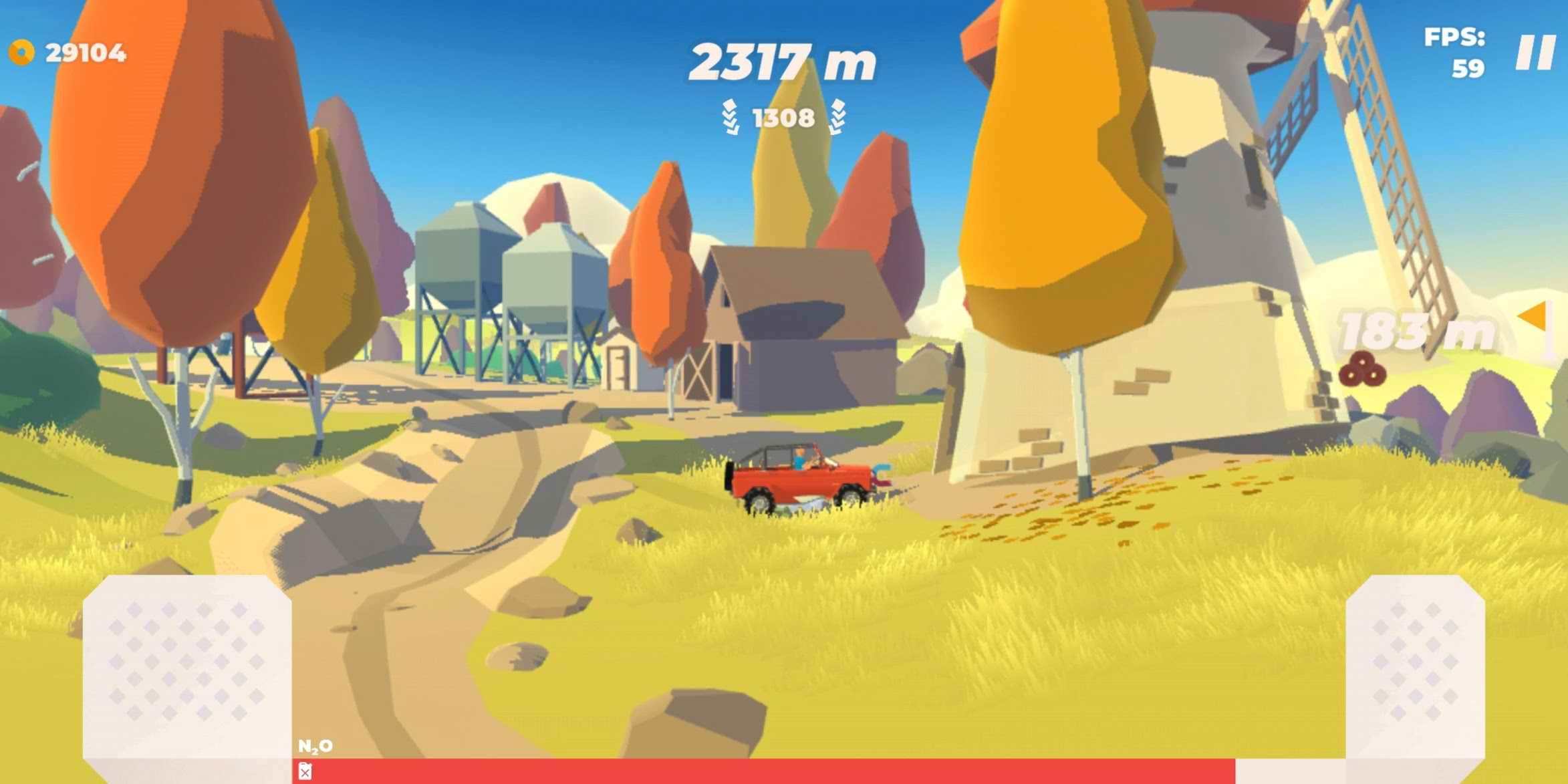دانلود Hillside Drive – Hill Climb 0.7 – بازی مسابقات رانندگی در تپه ها اندروید