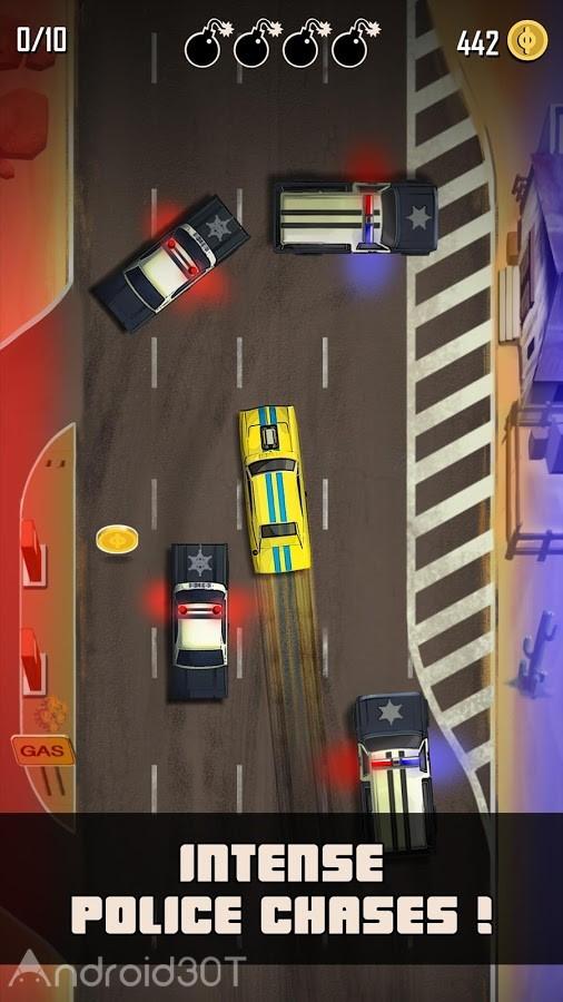 دانلود Hit n' Run 1.1 – بازی مسابقه ای دیتا دار برای اندروید