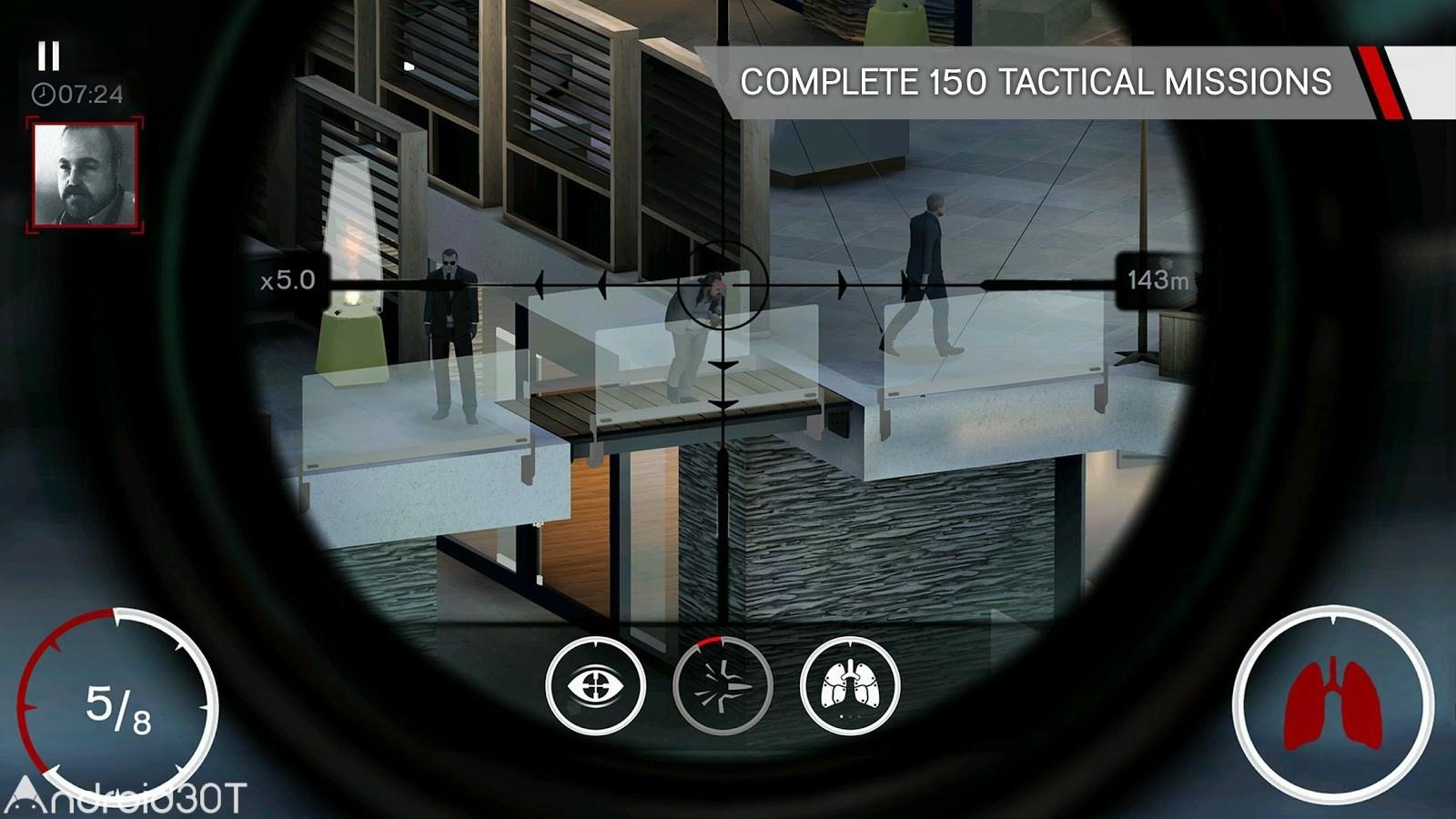 دانلود Hitman Sniper 1.7.193827 – بازی هیتمن جدید اندروید