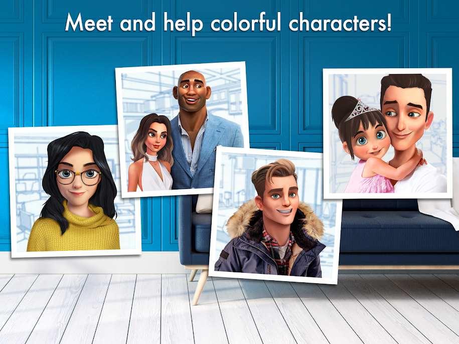 دانلود Home Design Makeover 3.5.4g – بازی جذاب دیزاین خانه اندروید