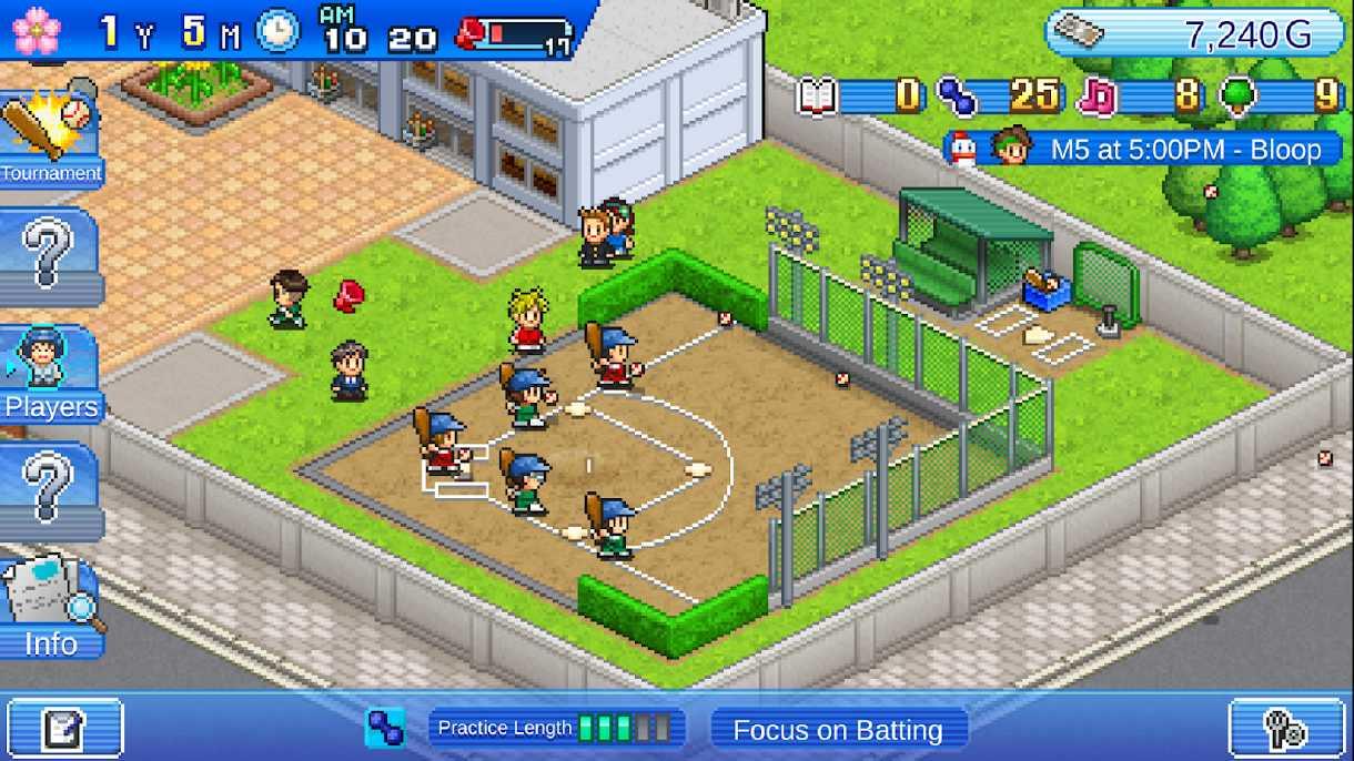 دانلود Home Run High 1.2.2 – بازی ورزشی بیسبال اندروید