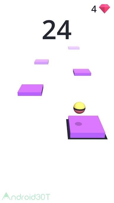 دانلود Hop 1.2.1 – بازی کنترل توپ در فضا اندروید