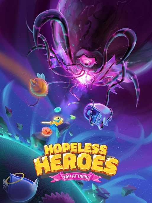 دانلود Hopeless Heroes: Tap Attack 2.0.16 – بازی نقش آفرینی برای اندروید