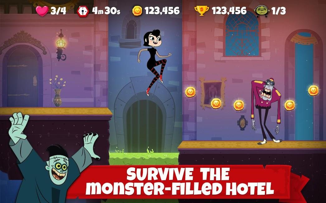 دانلود Hotel Transylvania Adventures 1.3.7 – بازی ماجراهای هتل ترانسیلوانیا اندروید