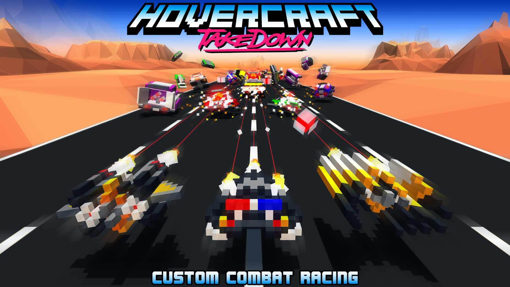 دانلود Hovercraft: Takedown 1.6.2 – بازی اکشن هاورکرفت نابودگر اندروید