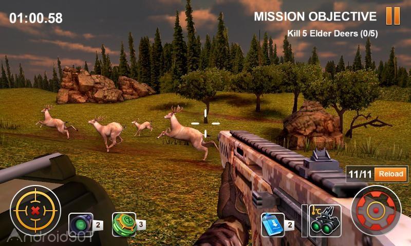 دانلود Hunting Safari 3D 1.4 – بازی سه بعدی شکار سافاری اندروید