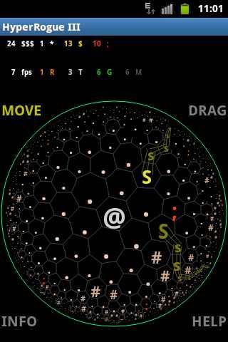 دانلود HyperRogue Gold 11.1d – بازی استراتژیکی کشف طلا اندروید