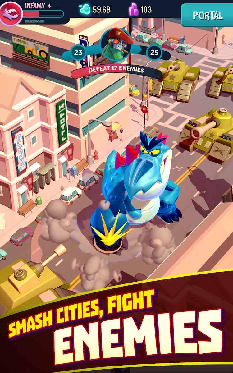 دانلود I Am Monster: Idle Destruction 1.5.8 – بازی من هیولا هستم اندروید