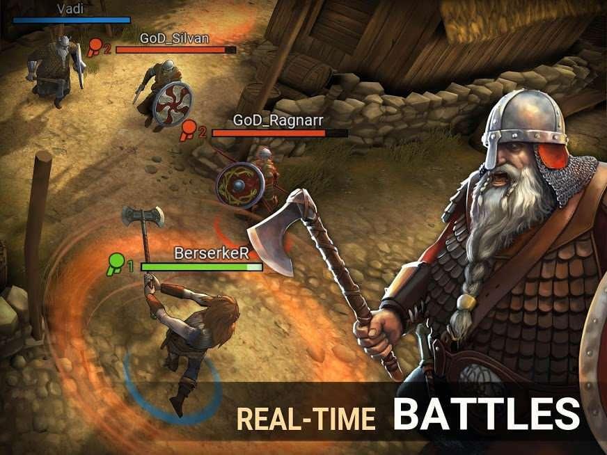 دانلود I Viking 1.20.3.57612 – بازی اکشن من وایکینگ هستم اندروید
