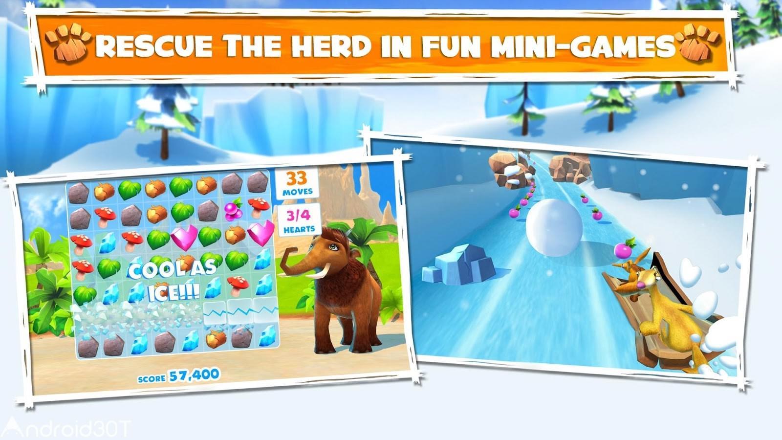 دانلود Ice Age Adventures 2.0.9a – بازی عصر یخبندان اندروید