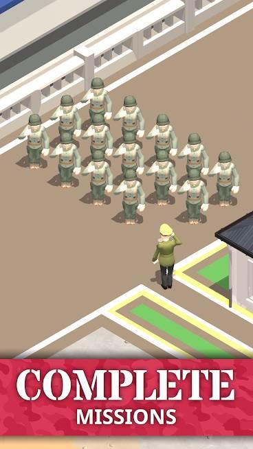 دانلود Idle Army Base 1.25.0 – بازی فرمانده پایگاه نظامی اندروید