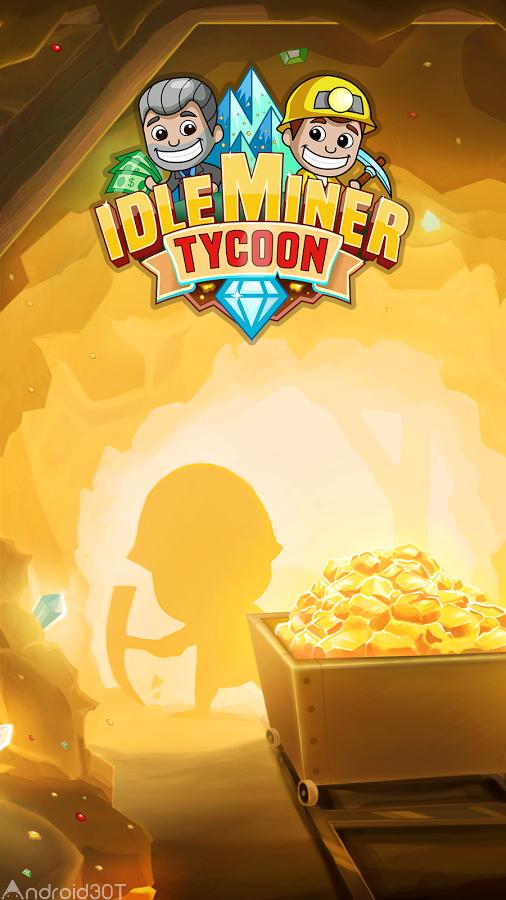 دانلود Idle Miner Tycoon 3.36.0 – بازی شبیه سازی معدن اندروید