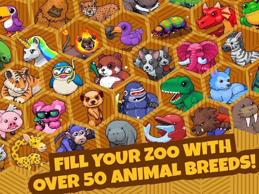 دانلود Idle Zoo Tycoon 1.2.3 – بازی شبیه سازی باغ وحش اندروید