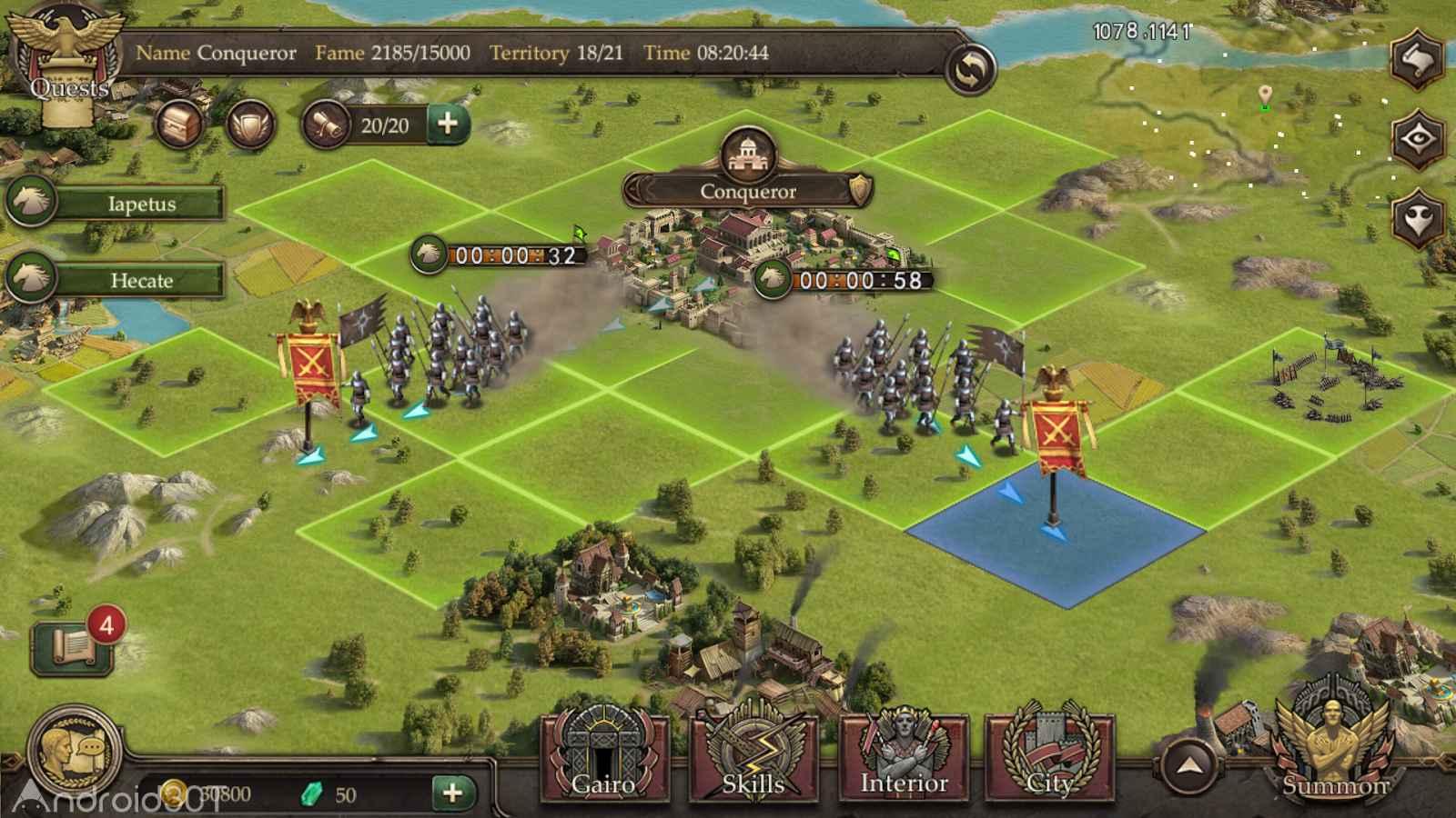 دانلود Immortal Conquest 1.2.8 – بازی پیروزی جاودان اندروید