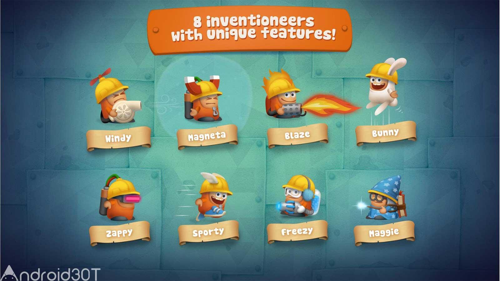 دانلود Inventioneers Full Version 4.0.2 – بازی جالب مخترع اندروید
