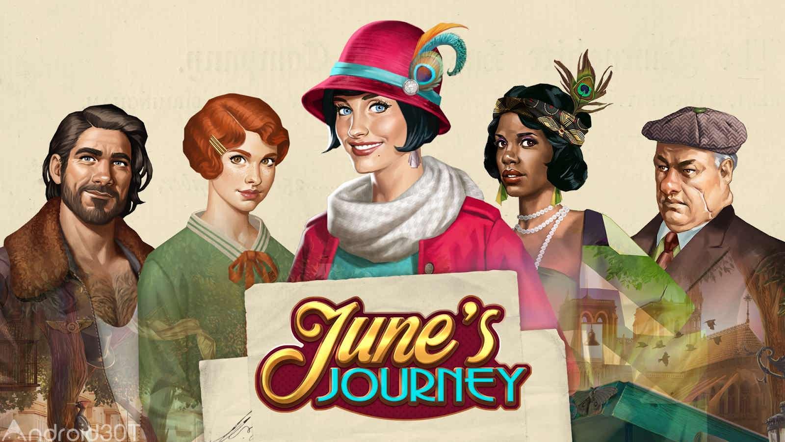 دانلود June's Journey – Hidden Object 2.24.3 – بازی ماجراجویی سفر پر ماجرا اندروید