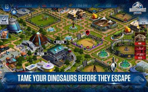 دانلود Jurassic World: The Game 1.48.14 – بازی شبیه سازی پارک ژوراسیک اندروید