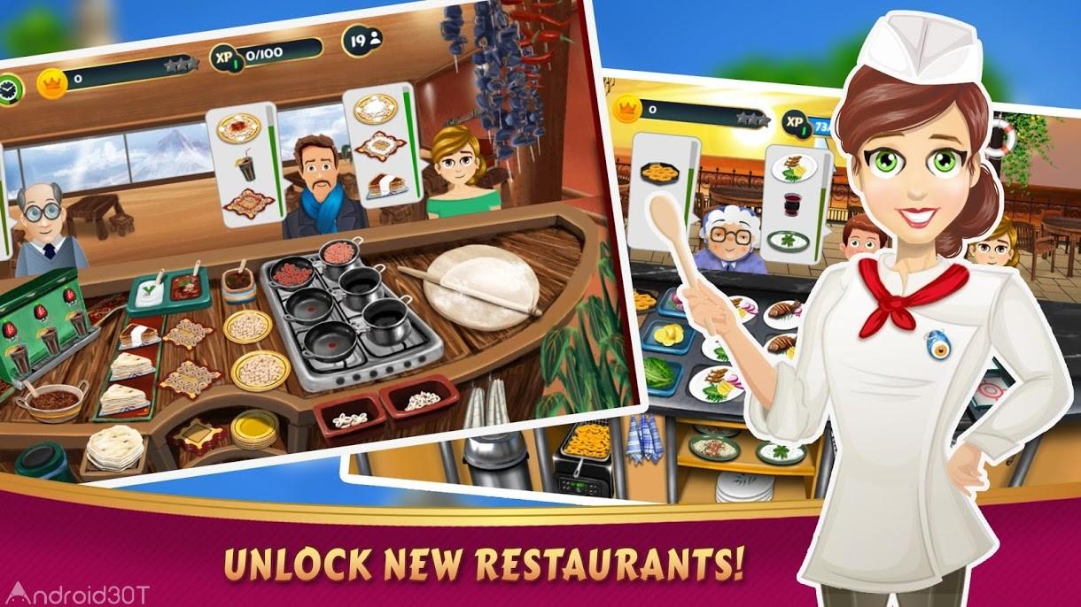 دانلود Kebab World 1.14.0 – بازی جذاب دنیای آشپزی اندروید