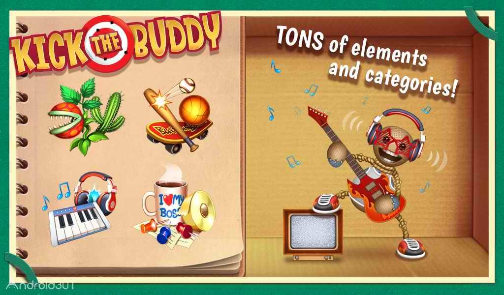 دانلود Kick the Buddy 1.0.4 – بازی اکشن کیل د بادی اندروید
