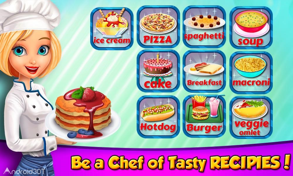 دانلود Kids in the Kitchen – Cooking Recipes 1.1 – بازی آشپزی کودکانه اندروید