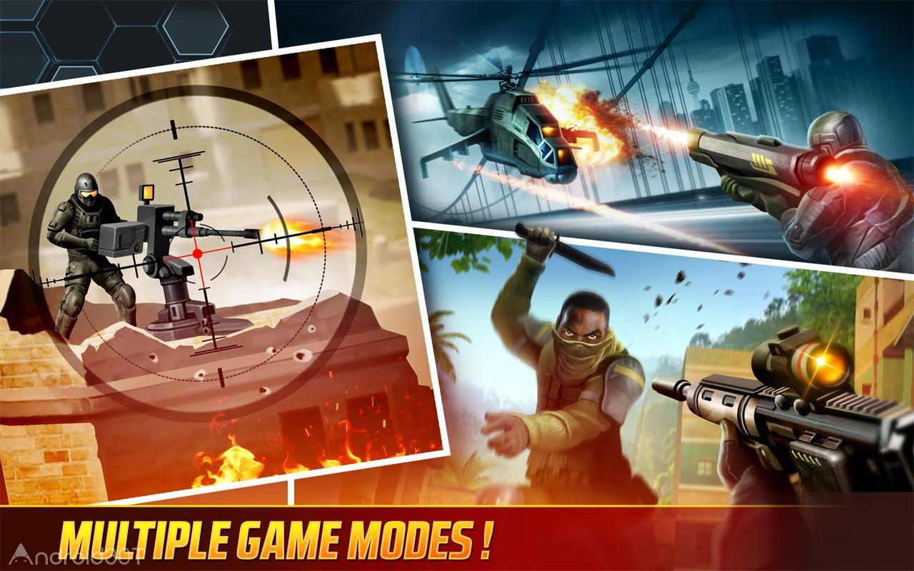 دانلود Kill Shot Bravo 8.7 – بازی مهیج تک تیراندازی آنلاین اندروید