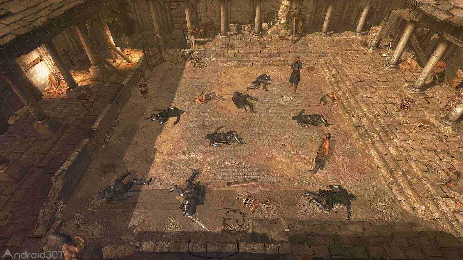 دانلود King Arthur 1.3 – بازی اکشن و مبارزه ای پادشاه آرتور اندروید