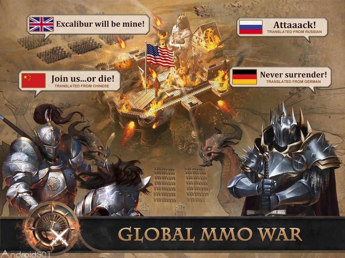 دانلود King of Avalon: Dragon Warfare 10.8.0 – بازی جنگ اژدها اندروید