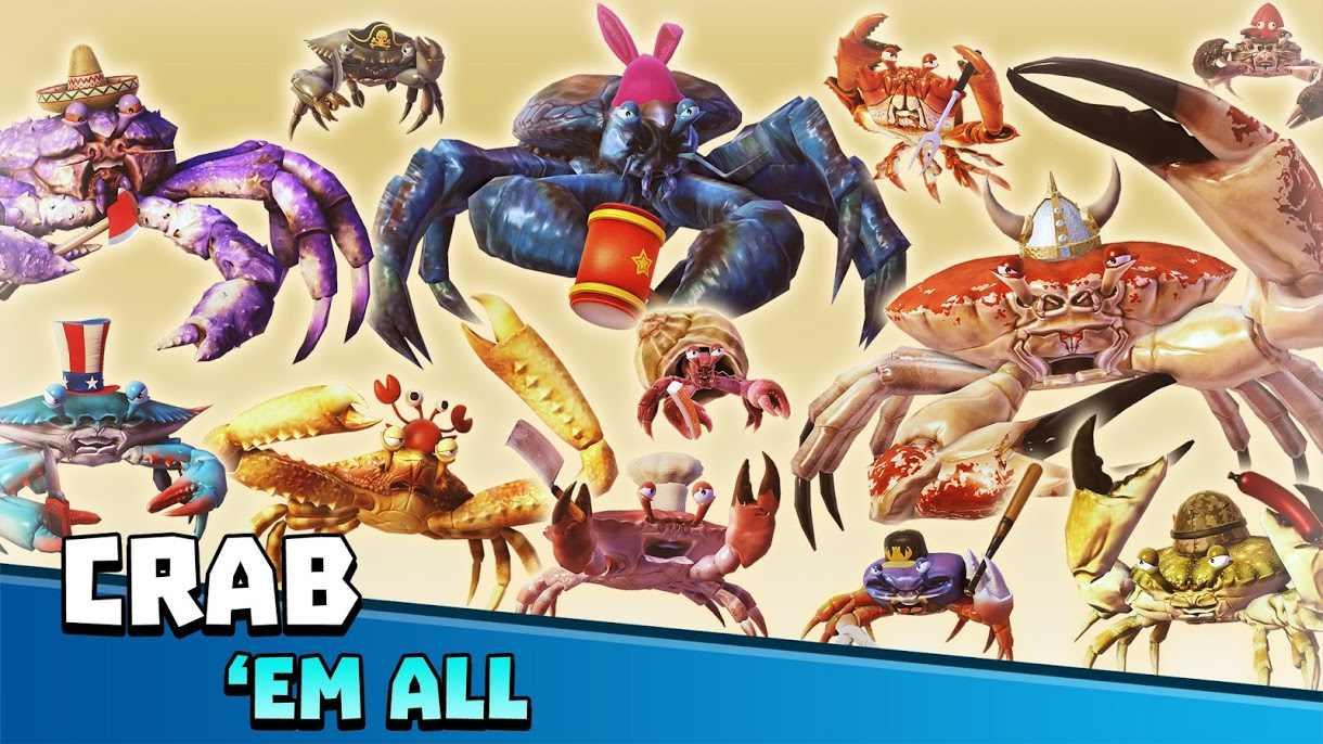 دانلود 1.11.0 King of Crabs – بازی استراتژی پادشاه خرچنگ ها اندروید