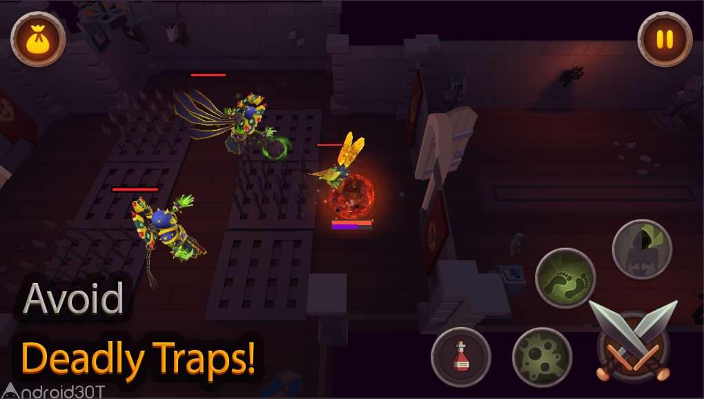 دانلود King of Raids: Magic Dungeons 2.0.72 – بازی اکشن پادشاه حملات اندروید