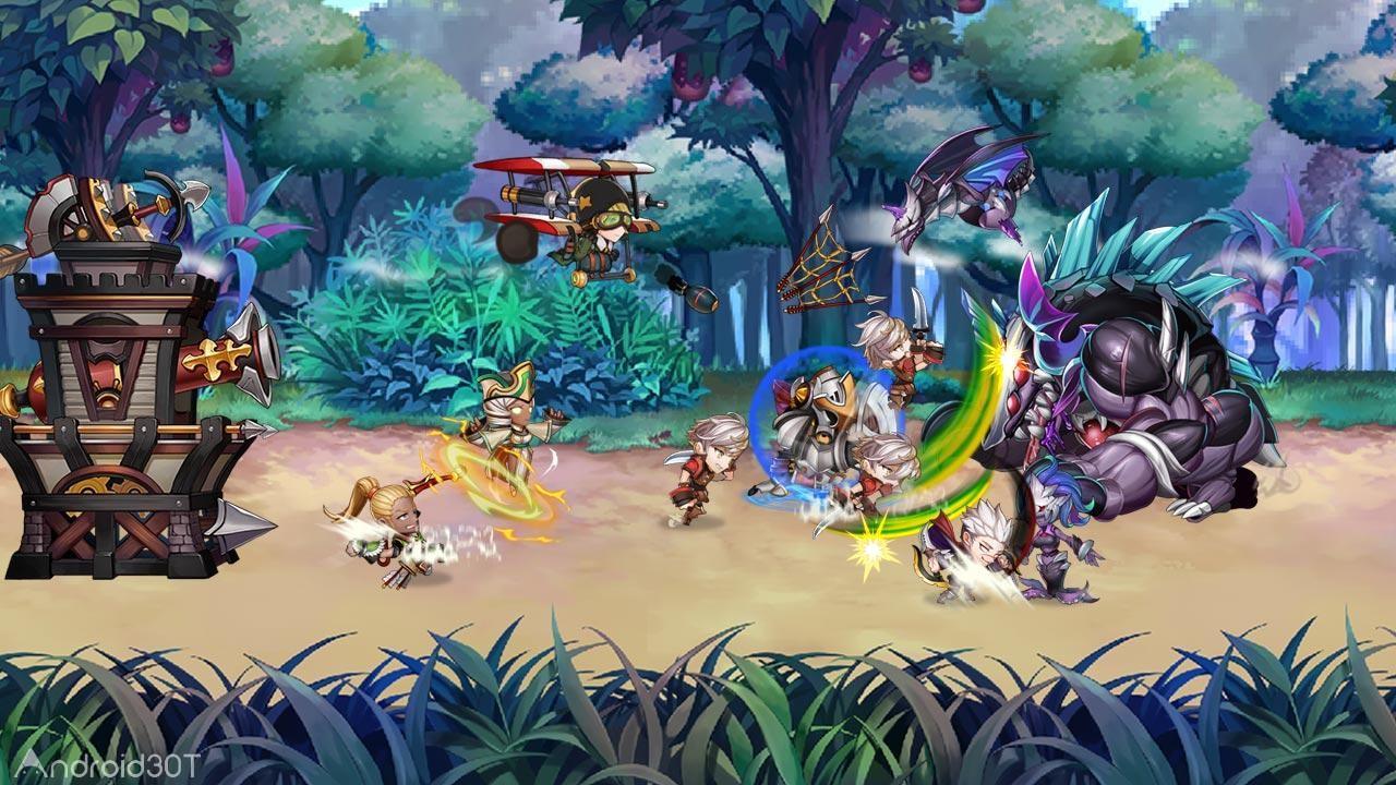 دانلود 1.0.6 Kingdom Alive – Offense RPG – بازی پادشاهی زنده است اندروید